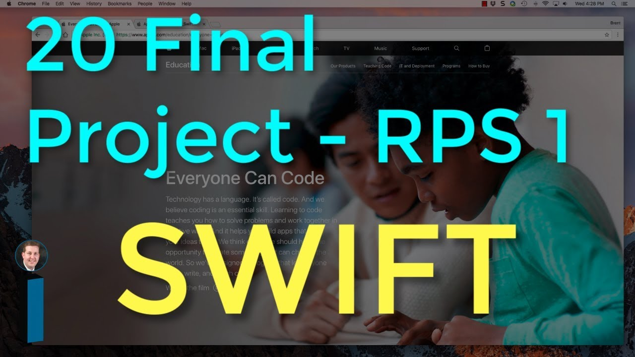 20 Final Project – RPS Part 1 – Intro to App Development with Swift