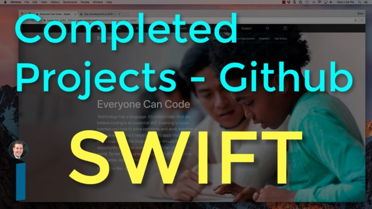 Project source code on Github – Intro to App Development with Swift