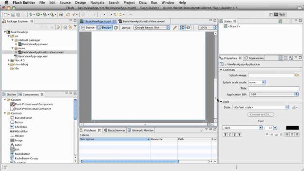 FB 4.5: Basic View App – Setup
