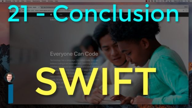 21 – Conclusion to Intro to App Development with Swift