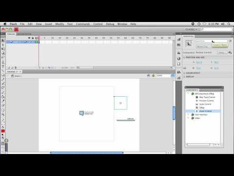 UMap & Flash CS4 Part 1