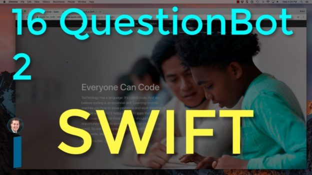16 QuestionBot 2 – Intro to App Development with Swift