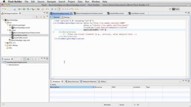 FB 4.5: Basic View App – Adding a List