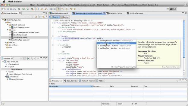 FB 4.5: Basic View App – adjusting layout