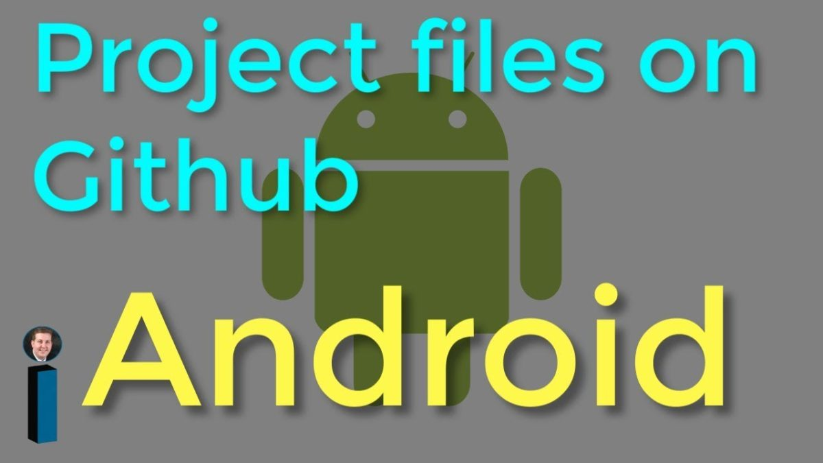 Project files on Github – Getting Started with Android Development