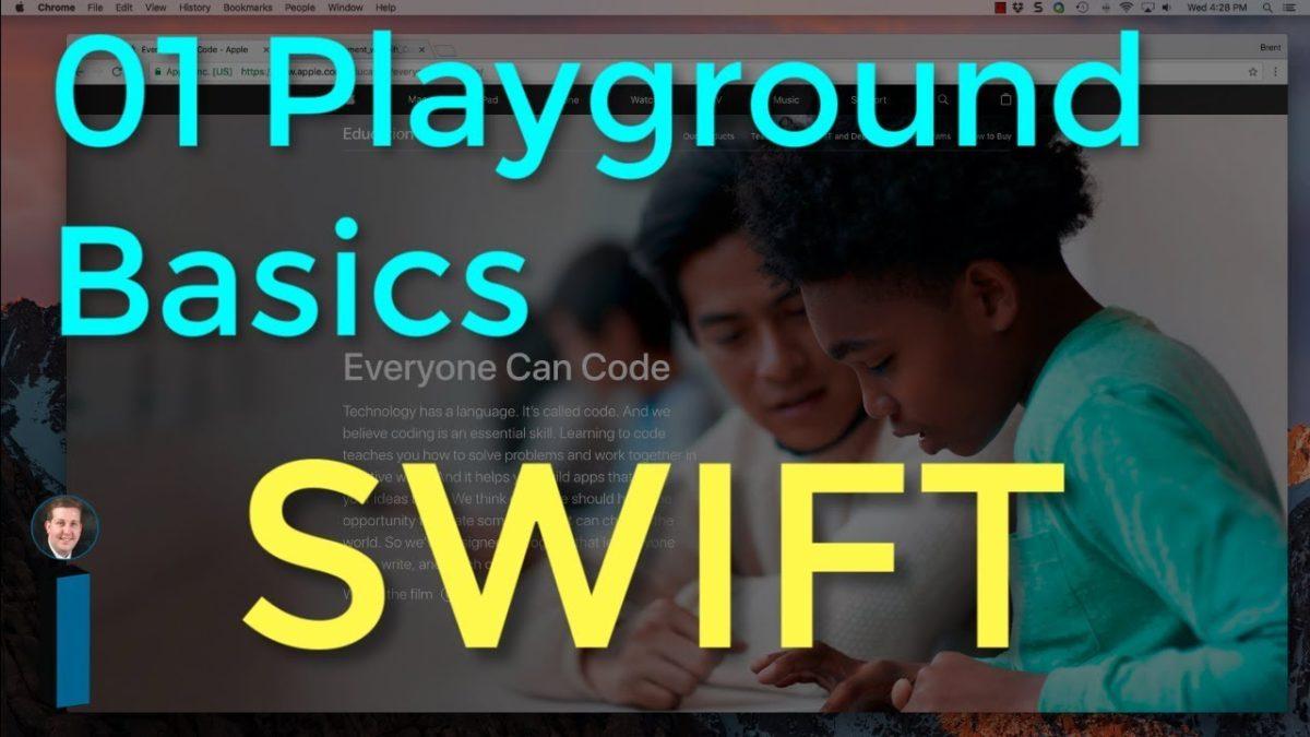 01 Playground Basics – Intro to App Development with Swift