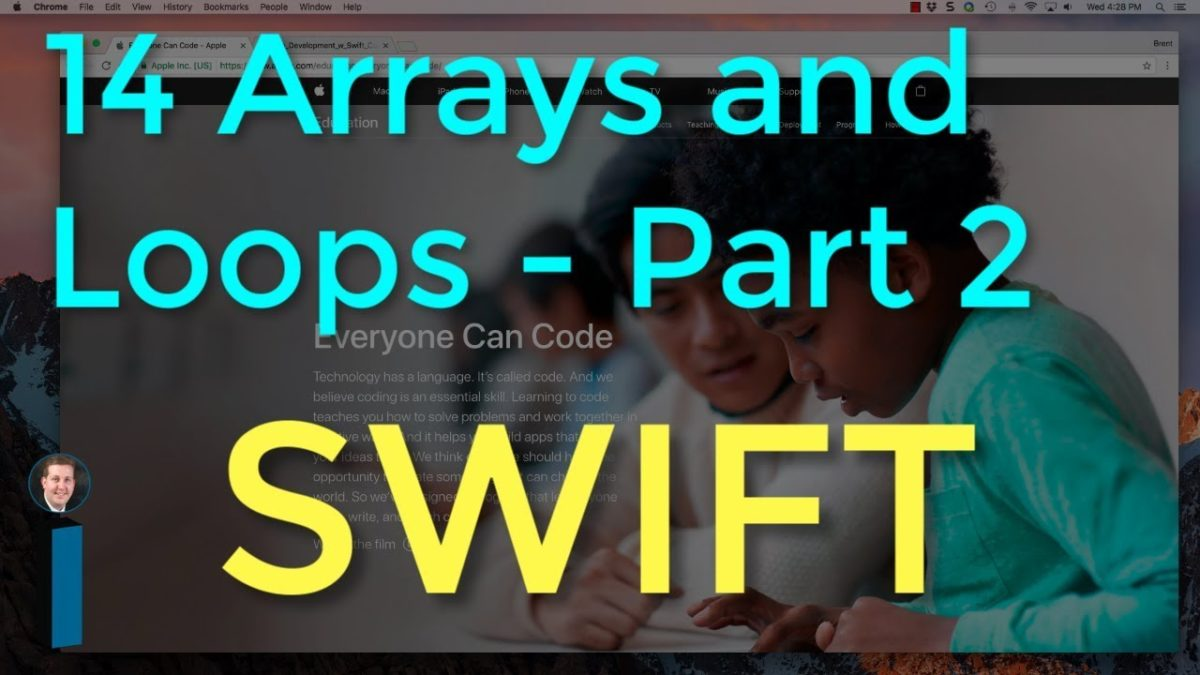 14 Arrays and Loops, Part 2 Exercises – Intro to App Development with Swift