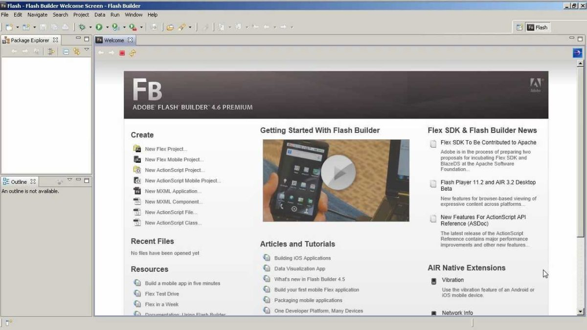 What's new in Flash Builder 4.6